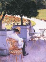 The Orange Trees - Gustave Caillebotte Oil Painting