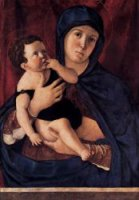 Madonna and Child III - Giovanni Bellini Oil Painting
