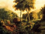 Landscape II - Thomas Cole Oil Painting