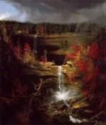 Falls of Kaaterskill - Thomas Cole Oil Painting