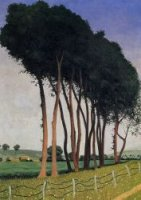 The Family of Trees - Felix Vallotton Oil Painting