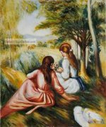 In The Meadow II by Pierre Auguste Renoir.