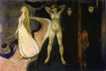 The Woman in Three Stages - Oil Painting Reproduction On Canvas