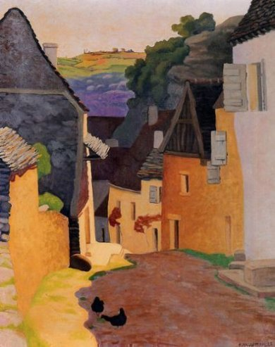 Rocamadour Landscape - Oil Painting Reproduction On Canvas
