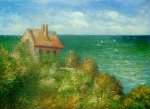 Fishermans Cottage At Varengeville II - Oil Painting Reproduction On Canvas