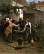 By the Well - by Guillaume Seignac