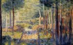 Forest Path, Barbizon - Georges Seurat Oil Painting