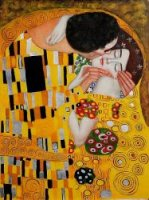 The Kiss II - Oil Painting Reproduction On Canvas Gustav Klimt Oil Painting