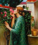 My Sweet Rose, 1908 - Oil Painting Reproduction On Canvas
