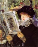 Reading II - Oil Painting Reproduction On Canvas