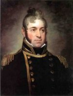 Commodore William Bainbridge, Commander of The Constitution (1774-1833) - Gilbert Stuart Oil Painting