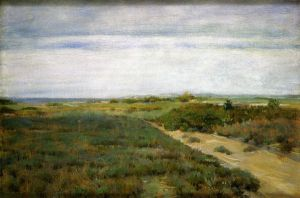Near the Sea - William Merritt Chase Oil Painting