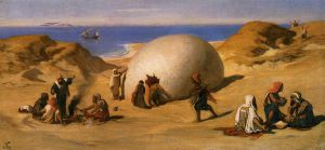 The Roc's Egg - Elihu Vedder Oil Painting