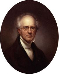 Self Portrait II - Rembrandt Peale Oil Painting