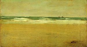The Angry Sea - James Abbott McNeill Whistler Oil Painting