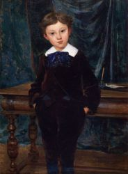 The Little Lord - Jules Bastien-Lepage Oil Painting