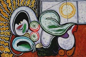 Nu Couche III - Pablo Picasso Oil Painting