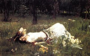Ophelia II - Oil Painting Reproduction On Canvas