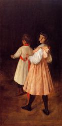 At Play - William Merritt Chase Oil Painting