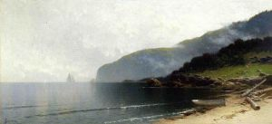 Coastal Scene III - Alfred Thompson Bricher Oil Painting
