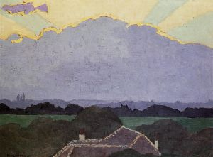 Cloud at Romanel - Felix Vallotton Oil Painting