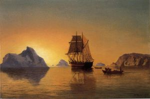 An Arctic Scene - William Bradford Oil Painting