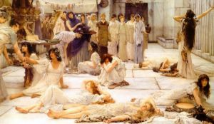 The Women of Amphissa - Oil Painting Reproduction On Canvas