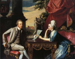 Mr. and Mrs. Ralph Izard (Alice Delancey) - John Singleton Copley Oil Painting