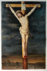 Cross- Oil Painting Reproduction On Canvas