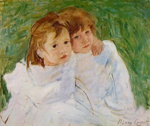The Sisters - Mary Cassatt Oil Painting