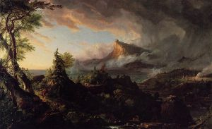 The Course of Empire: The Savage State - Thomas Cole Oil Painting