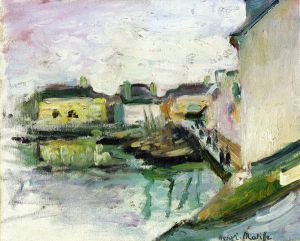The Port of Palais, Belle-Ile - Henri Matisse Oil Painting