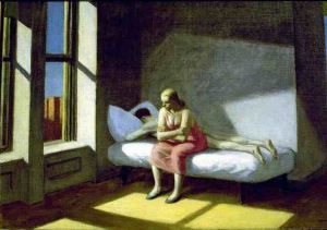 Summer in the City - Edward Hopper Oil Painting