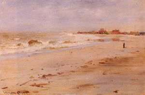 Coastal View - William Merritt Chase Oil Painting