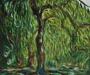 Weeping Willow II - Claude Monet Oil Painting