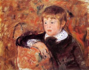 Master Robert Kelso Cassatt - Mary Cassatt Oil Painting