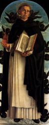 Polyptych of San Vincenzo Ferreri (central panel) - Giovanni Bellini Oil Painting