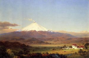 Cotopaxi V - Frederic Edwin Church Oil Painting