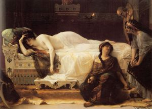 Phèdre - Alexandre Cabanel Oil Painting
