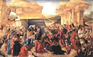 Adoration of the Magi II - Sandro Botticelli Oil Painting