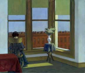 Room in Brooklyn - Edward Hopper Oil Painting