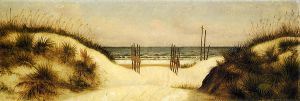 Beach at Ponce Park, Florida - William Aiken Walker Oil Painting