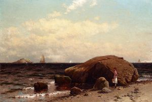Looking out to Sea II - Alfred Thompson Bricher Oil Painting