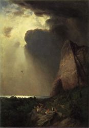 The Lost Balloon - William Holbrook Beard Oil Painting