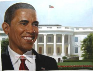 Portrait of the president -- Mr. Obama