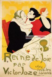 Queen of Joy by Henri De Toulouse-Lautrec
