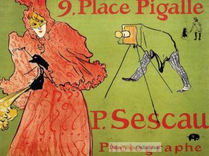 The Photagrapher Sescau by Henri De Toulouse-Lautrec.j
