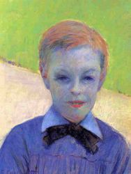 Portrait of Camille Daurelle - Gustave Caillebotte Oil Painting
