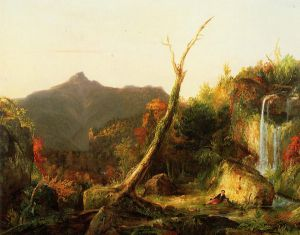 Autumn Landscape - Thomas Cole Oil Painting