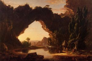 An Evening in Arcadia - Thomas Cole Oil Painting